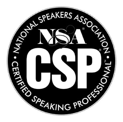 Certified Speaking Professional – National Speakers Association