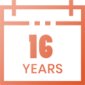16-Years-Calendar-Icon