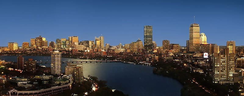 City of Boston Skyline