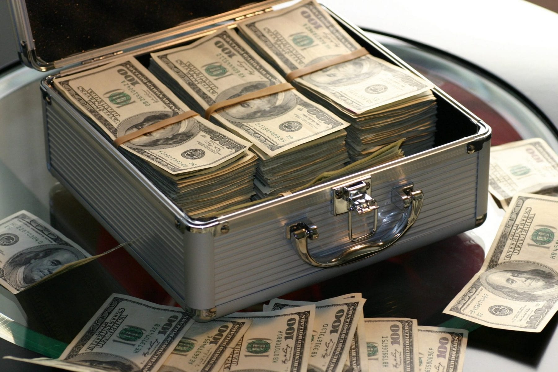 money-in-suitcase